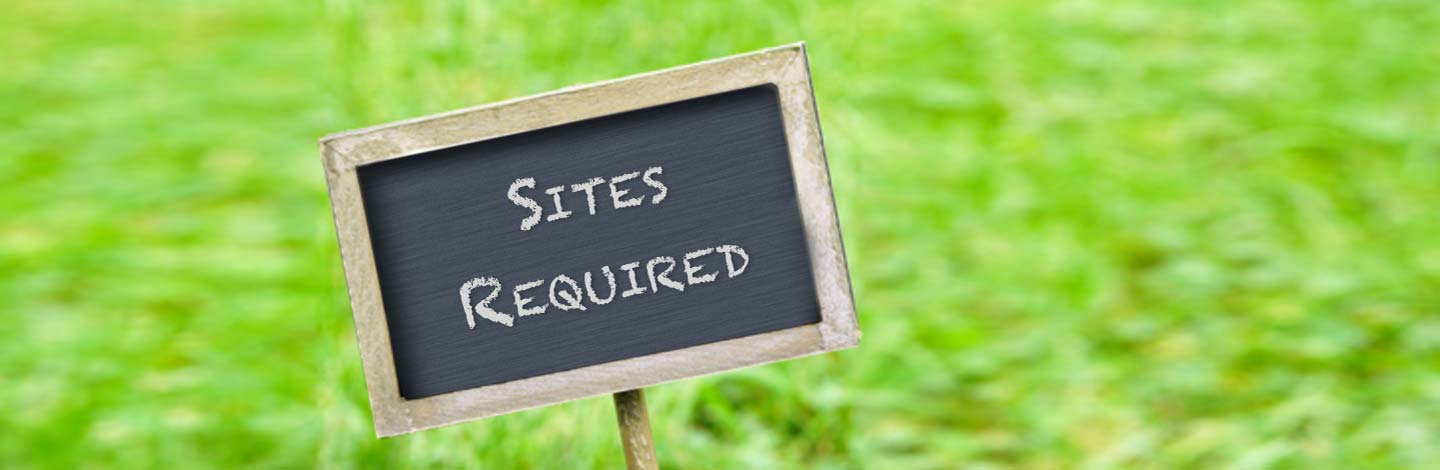 Sites Required